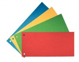 Разделительные полосы картон 105*240 100шт син.