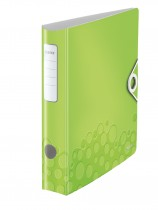 Регистратор 5см. А4 (PVC) Active Wow, метал. зелен.