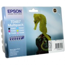 Картридж для струйных устройств Epson Stylus Photo R200/R340/RX620 (C13T048140AO) комлект 6цв. ориг.