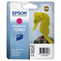 Картридж для струйных устройств Epson Stylus Photo R200/R340/RX620 (C13T048340) красн. оригинальный