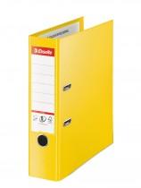 Регистратор 7,5см. А4 (PVC) No.1 Power Vivida, желт.