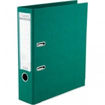 Регистратор 7,5см. А4 (двухстороннее покрытие PVC) Prestige, зелен.