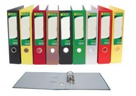 Регистратор 7,5см. А4 (PVC) односторонний, красн.
