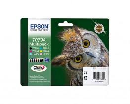 Картридж для струйных устройств Epson Stylus Photo P50/PX660 (C13T079A4A10) комплект 6цв. оригин.