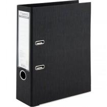 Регистратор 7,5см. А4 (двухстороннее покрытие PVC) Prestige, черн.
