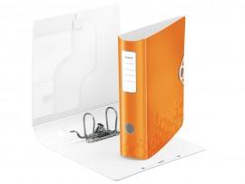 Регистратор 8,2см. А4 (PVC) Active Wow, метал. оранж.