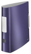 Регистратор 8,2см. А4 (PVC) 180 Style, титановый син.