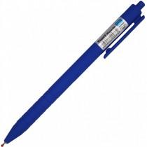 Ручка масляная автоматическая Reporter, корпус син., стержень син.