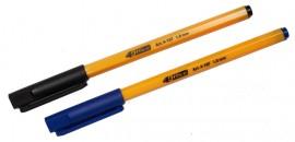 Ручка шариковая корпус желт., стержень черн.