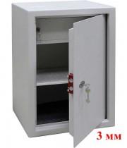 Сейф офисный (650*450*380мм.), отделение для денег (трейзер), ключевой замок