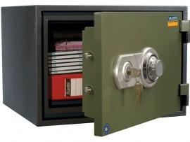 Сейф огнестойкий (320*420*352мм.), ключевой замок+механический кодовый замок