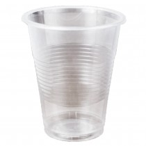 Стакан пластиковый 200мл., термо, 100шт./уп., прозр.