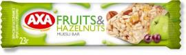 Батончик зерновой с фруктами и орехами, 23г.