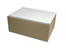 Сфальцованая бумага с перфорацией 240 X 3-х слойная SuperLux, 540 комплектов