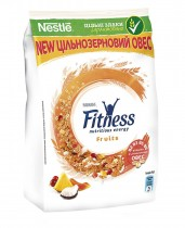 Готовый завтрак Fitness с фруктами, 400г.