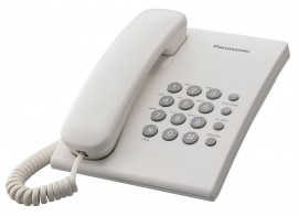 Телефон KX-TS2350UAW, бел.