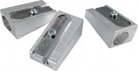 Точилка металлическая клиновидная форма