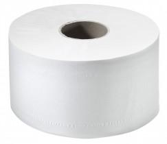 Туалетная бумага Джамбо без отрывов 2-х сл., целлюлоза, 170м., 12шт./уп., бел.