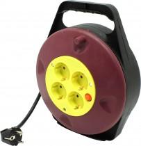 Фильтр-удлинитель 4розетки, 15,0 м + выключатель