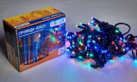 Гирлянда внешняя DELUX ICICLE LED на 108 светод. (из них 27 flash), 2 по 1метру, IP44, разноцветная