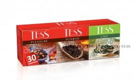 Чай в наборе пакетированный №1 Pleasure/Sunrise/Lime 30шт.