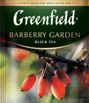 Чай черный ароматизированный Barberry Garden 100пак. по 1,5гр., термосаше, в пакете