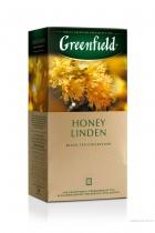 Чай черный ароматизированный Honey Linden 25пак. по 1,5гр., термосаше