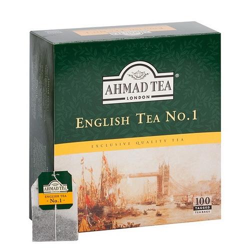Чай черный ароматизированный Англиский №1 100пак. по 2гр. AHMAD - фото 1