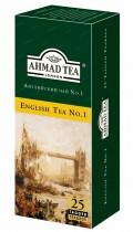 Чай черный ароматизированный Англиский №1 25пак. по 2гр.