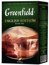 Чай черный классический English Edition 100гр.
