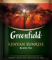 Чай черный классический Kenyan Sunrise 100пак. по 2гр., термосаше, в пакете