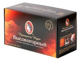 Чай черный классический Высокогорный 50пак. по 2гр.