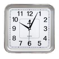 Часы настенные F6271R, квадратные, сталь