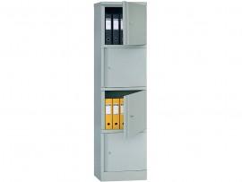 Шкаф архивный 4полки, (1830*472*458см.) метал., замок