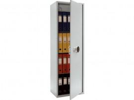 Шкаф бухгалтерский 3полки+отделение с замком, (1490*460*340см.) метал., электронный замок