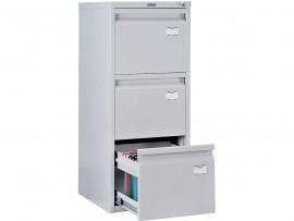 Шкаф картотечный, для подвесных файлов 3ящика, (995*408*480см.) метал., замок сер.