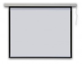 Экран для проектора Profi electric настенный, электрический 177х177см.
