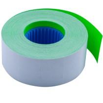 Этикет-лента 26*16мм., прямоугольная, внутренняя намотка, 1000шт./рул., 10рул/уп., зелен.