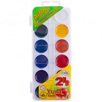 Краски акварельные 24цв. Пчелка