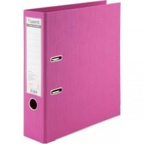 Регистратор 7,5см. А4 (двухстороннее покрытие PVC) Prestige, розов.