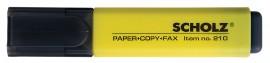 Маркер текстовый 210 1-5мм., желт.