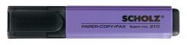 Маркер текстовый 210 1-5мм., фиолет.