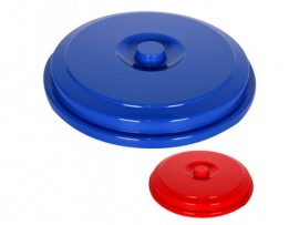 Крышка для ведра круглого, 18л., пластик, ассорт.