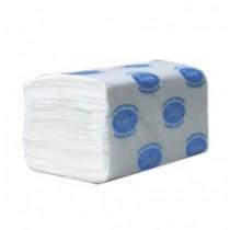 Полотенца листовые V (ZZ)-складка 2-сл., целлюлоза, 160 лист.(22,5*22,5см.) Basic, бел.