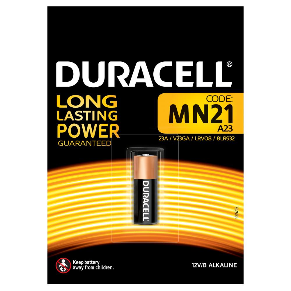 Батарейка MN21 (А23) 12V Duracell - фото 1