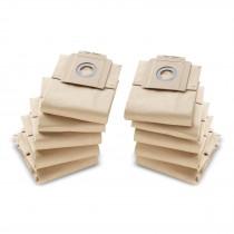 Мешки для пылесоса KAERCHER (BIA-C, категория пыли M), бумажные, 10шт./уп.