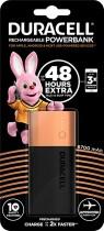 Аккумулятор-зарядка Power bank, емкость 6700мАч, выход 2,4А - 1 USB, вход - microUSB