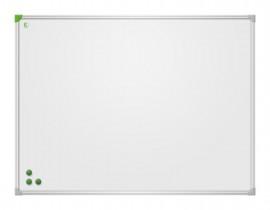 Доска белая магнитная сухостираемая EcoBoard 80*120см., алюминиевая рамка, лак
