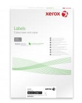 Наклейки Labels для цвет. лазер. печати (1) 199.6X289,1мм., 100л./уп., закругленные края (003R93872)