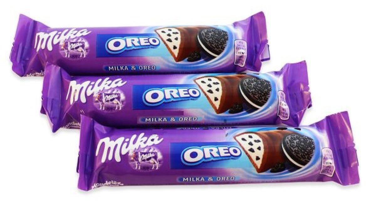 Батончик шоколадный Oreo, 37г. Milka - фото 1